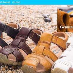 Ehtsast nahast sandaalid