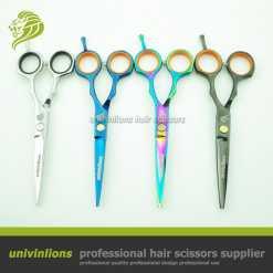Professionaalsed juukselõikuskäärid neljas toonis
